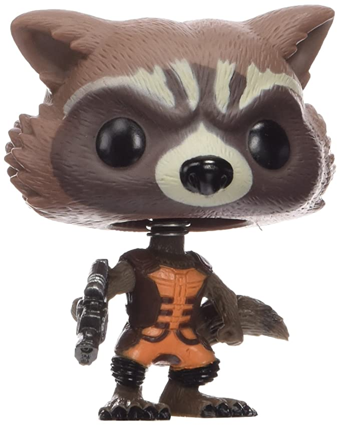 2 opinioni per Funko 3792- Guardiani della Galassia, Pop Vinyl Figure 48 Rocket Raccoon, 10 cm
