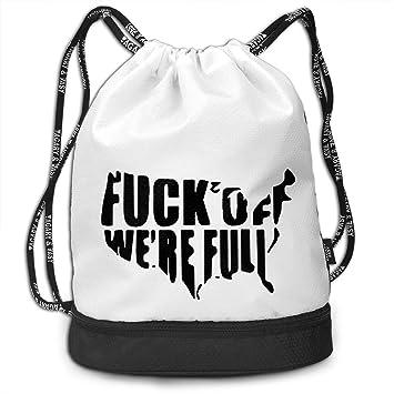 Amazon.com | DONA Fuck Off Were FullSports Yoga Zipper ...