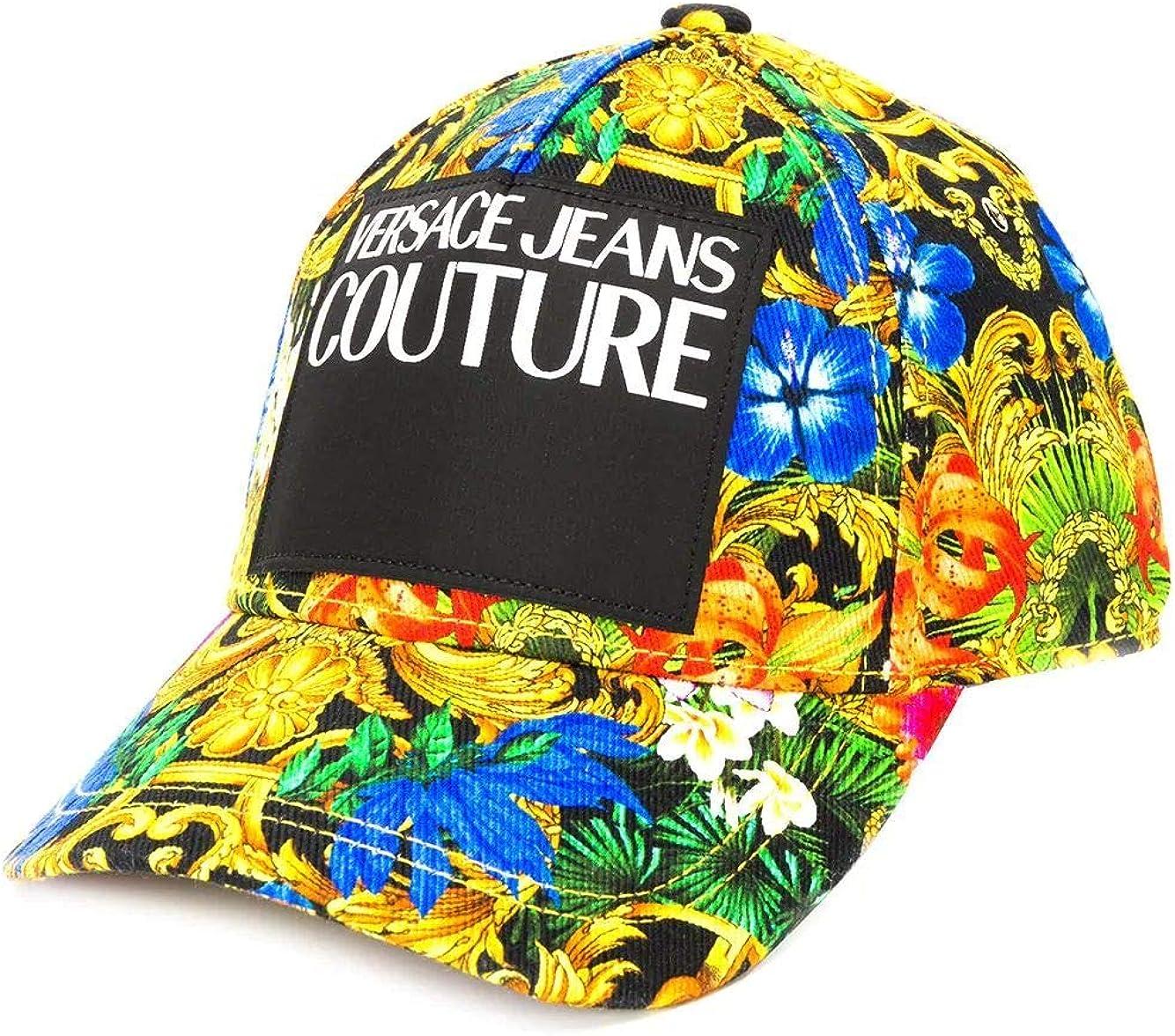 Primavera Estate 20 Versace Luxury Fashion Uomo E8GVAK11S0652983 Multicolor Cappello
