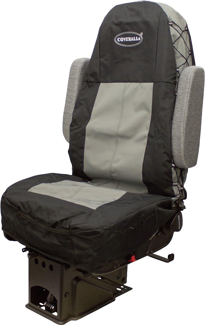 S- tech automotive Fiesta 02-08 Water Resistant Heavy Duty Durable Single Seat Cover Grey