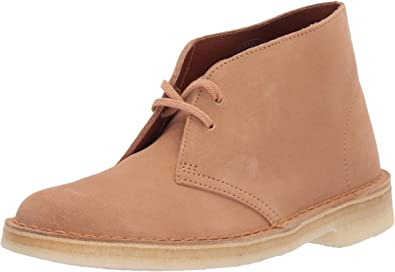 BOYS CLARKS ORIGINALS DESERT BOOTS BROWN BEIGE SUEDE LEATHER G FIT