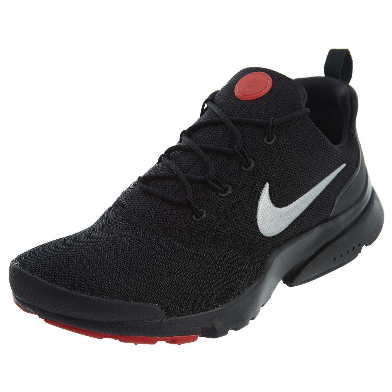 Nike Pánské Presto Fly Running Sneaker Boty Černá/Metallic stříbrná/Červené doprava zdarma Z54568