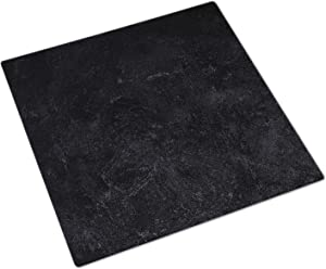 Bessie Bakes 20-inch x 20-inch Black Textured Paint Replicated Photography Backdrop 3 mm Thick Physical Board, Lightweight, Moisture & Stain-Resistant