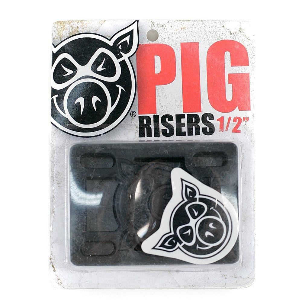 /Él/évateurs pour skateboard Rigides 1,2/cm Noirs Pig