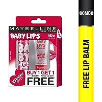 Maybelline New York Winter Promo, Berry Crush, 4g with Free Strawberry Crush, 9ml