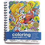 Coloring JournalBook (8.5 x 7 inches) -- Side-Bound Notebook -- Note taking with a Coloring book twist