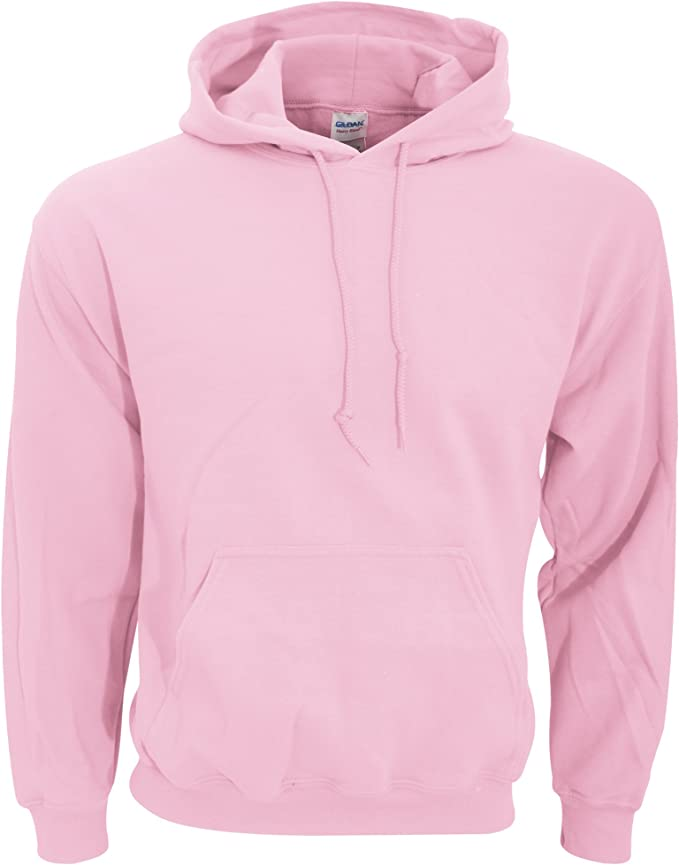 Hooded Pullover Sweat Shirt Heavy Blend 50/50 7.75 oz. by Gildan (Style# 18500) at Amazon Men's Clothing store