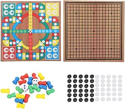 Zerodis- Juegos de Mesa Juguete del ajedrez, Juguete Educativo ...