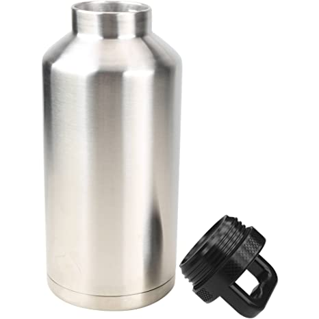 560ff177b2c Amazon.com: Ozark Trail 64 Ounce Double Wall Stainless Steel Water Bottle:  Sports & Outdoors
