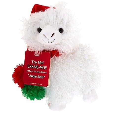 Christmas Llama.Amazon Com Animated Dancing Or Singing Plush Christmas Toy