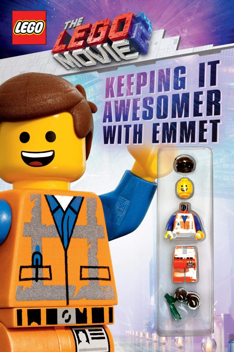 Keeping It Awesomer With Emmet The Lego Movie 2 Guide With Emmet Minifigure Scholastic Rusu Meredith 9781338307580 Amazon Com Books