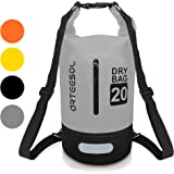 Dry Bag, VIPFAN Borsa Impermeabile 5L/10L/20/30L Waterproof Bag per Piscine, Nave, Trekking, Kayak, Canoa, Pesca, Rafting, Nuoto, Campeggio, Tracolla Regolabile