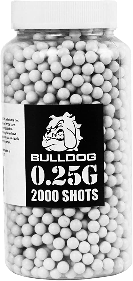 1 BOTTLE 2000 COUNT AIR SOFT AMMO 6MM BALLS airsoft colored ball for toy gun new