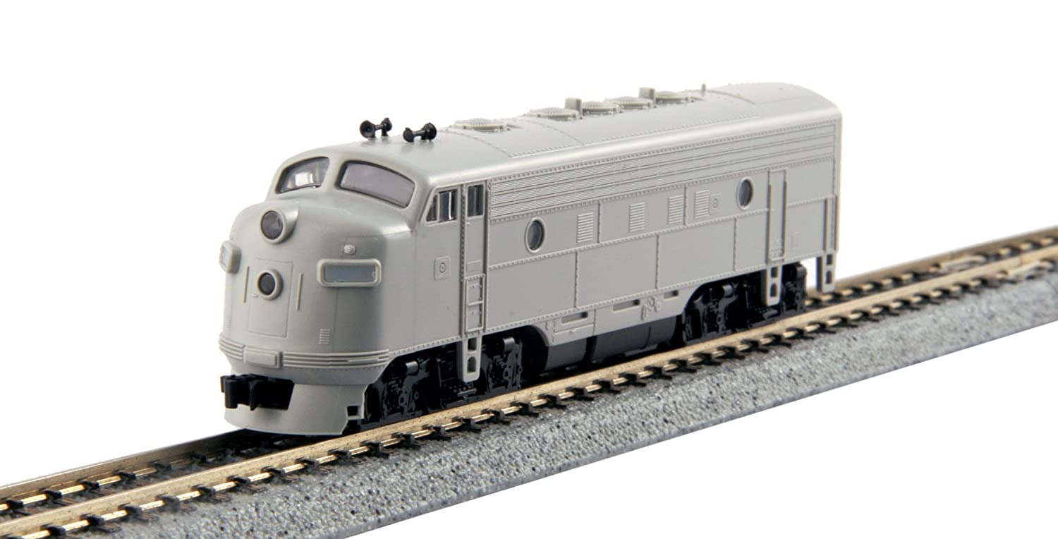 Kato USA Model Train Products EMD F7A Undecorated Locomotive (1:160 Scale) Kato Trains 176-2200