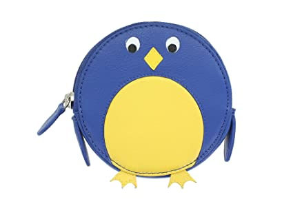 Mala Leather Monedero Redondo de Cuero para Monedas con Diseño Animal 4155_11 Azulejo