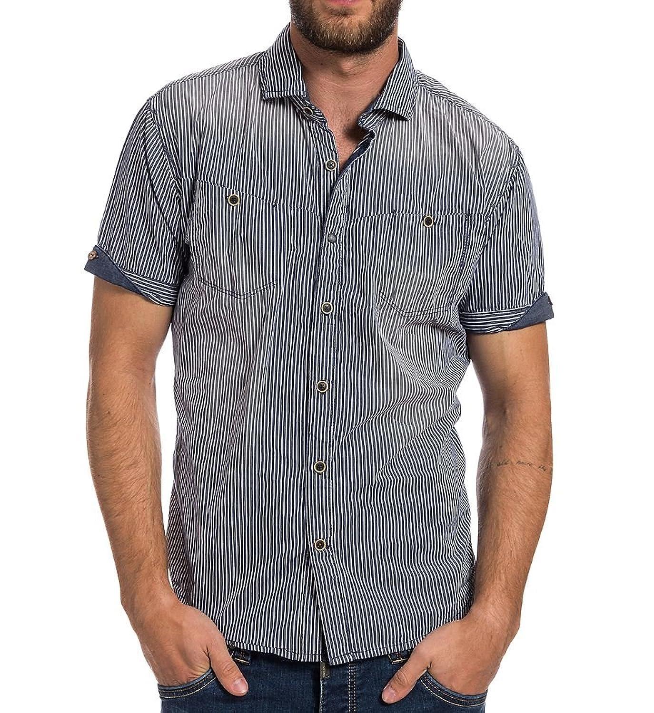Timezone Herren Freizeithemd Shortsleeve Shirt