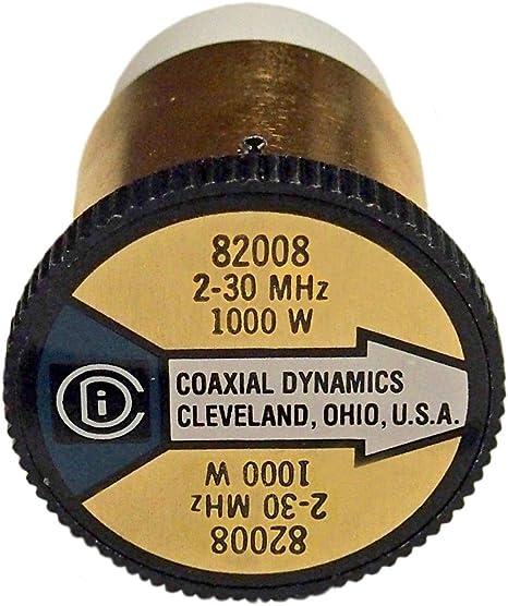 New Bird 1000H Plug-in Element 0 to 1000 watts 2-30 MHz for Bird 43 Wattmeters