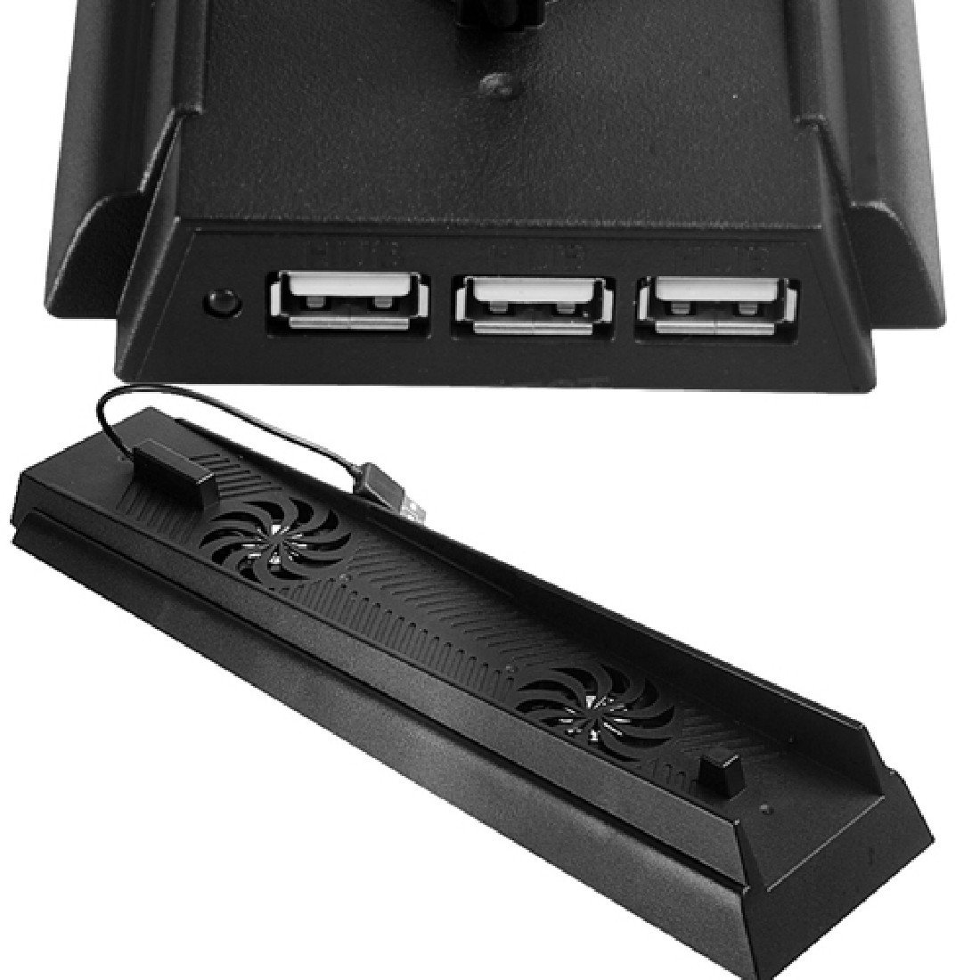 Ventilateurs Chargeur Dock Support de charge Console Pour Ps4 Usb Port plastique refroidissement NoyoKere LAIFA16C0500