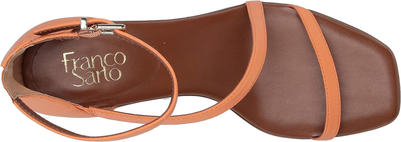 Franco Sarto Women's Ankle Strap Sandal Melon