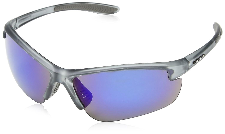 Eyelevel Planet, Gafas de Sol Deportivas para Hombre (Silver/Blue) Talla única