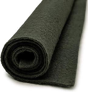Cyprus Garden Green - Wool Felt Oversized Sheet - 20% Wool Blend - 36 in x 36 in Sheet