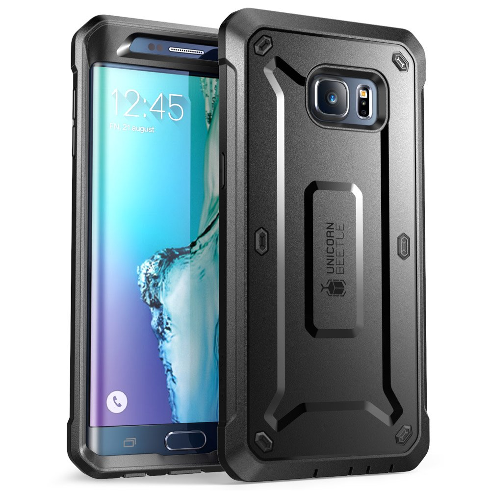 official photos 92a32 be4ea SupCase [Unicorn Beetle PRO Series Case for Galaxy S6 Edge Plus, Full-Body  Rugged Hybrid Protective Cover with Screen Protector Belt Clip Holster ...