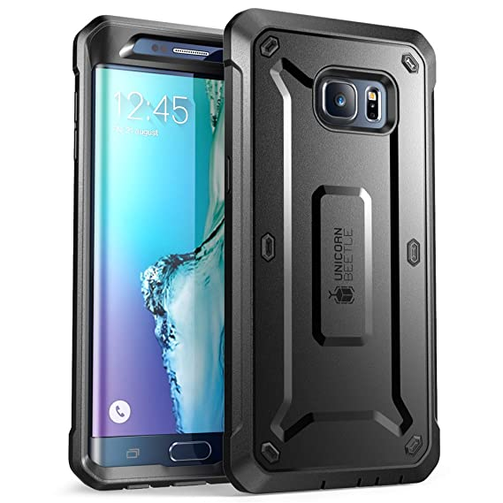 amazon com supcase samsung galaxy s6 edge plus case, [heavy dutysupcase samsung galaxy s6 edge plus case, [heavy duty] belt clip holster case