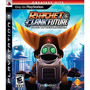 Amazon Com Ratchet And Clank Future Tools Of Destruction