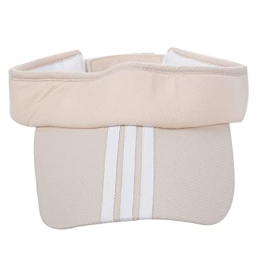 fbb73489c58 SODIAL(R) Sports Tennis Golf Sun Visor Hat Hats Adjustable Plain Bright  Color Men