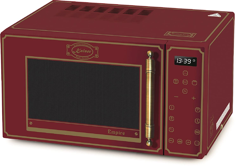 Kaiser Empire M 2500 rojo Retro microondas/horno de ...
