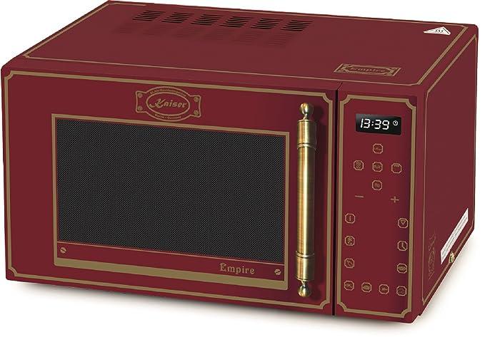 Kaiser Empire M 2500 rojo Retro microondas/horno de microondas con ...