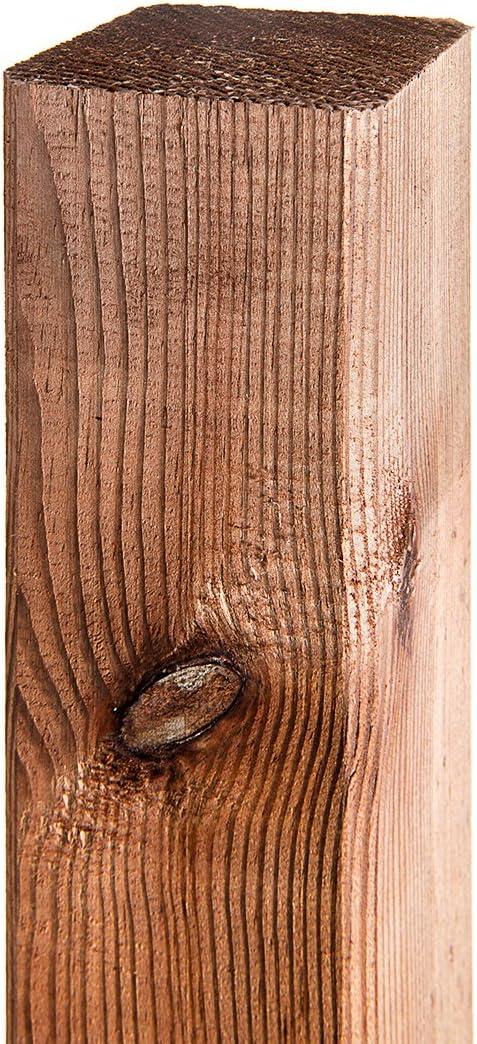 1unidad. de poste de 7 x 7x 180cm, poste de madera de pino impregnada