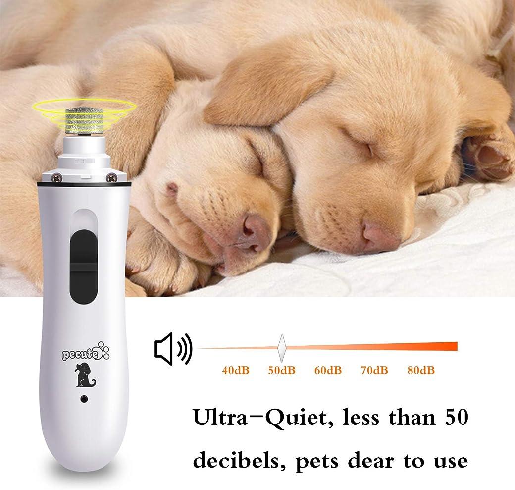 Pecute Lima de Uñas Eléctrica para Perro y Gato Mascotas