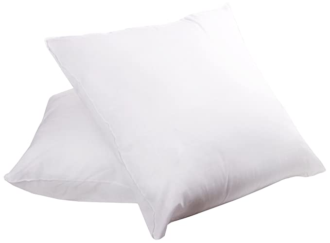 Sweet Home Collection Down Alternative HypoAllergenic Polyester Simple 16 Inch Square Pillow Insert