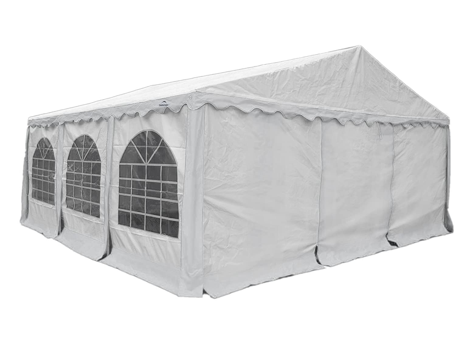 Amazon.com  ShelterLogic 25927 Enclosure Kit with Windows for Party Tent 20x20 ft / 6x6 m White (Frame and cover Not included)  Garden u0026 Outdoor  sc 1 st  Amazon.com & Amazon.com : ShelterLogic 25927 Enclosure Kit with Windows for ...