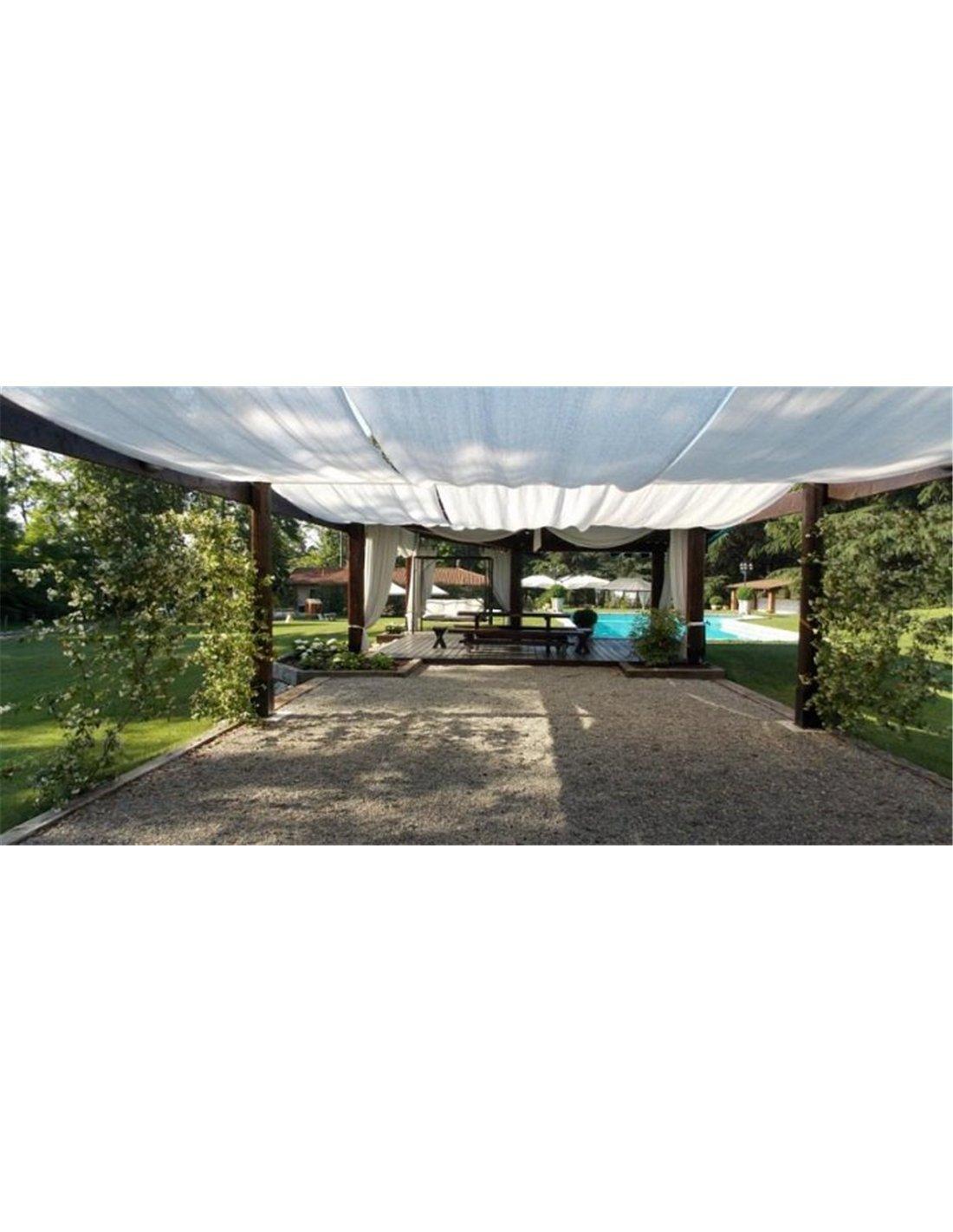 Jardin202 2 m. de Ancho - Malla de sombreo Blanca - Rollo 100m ...