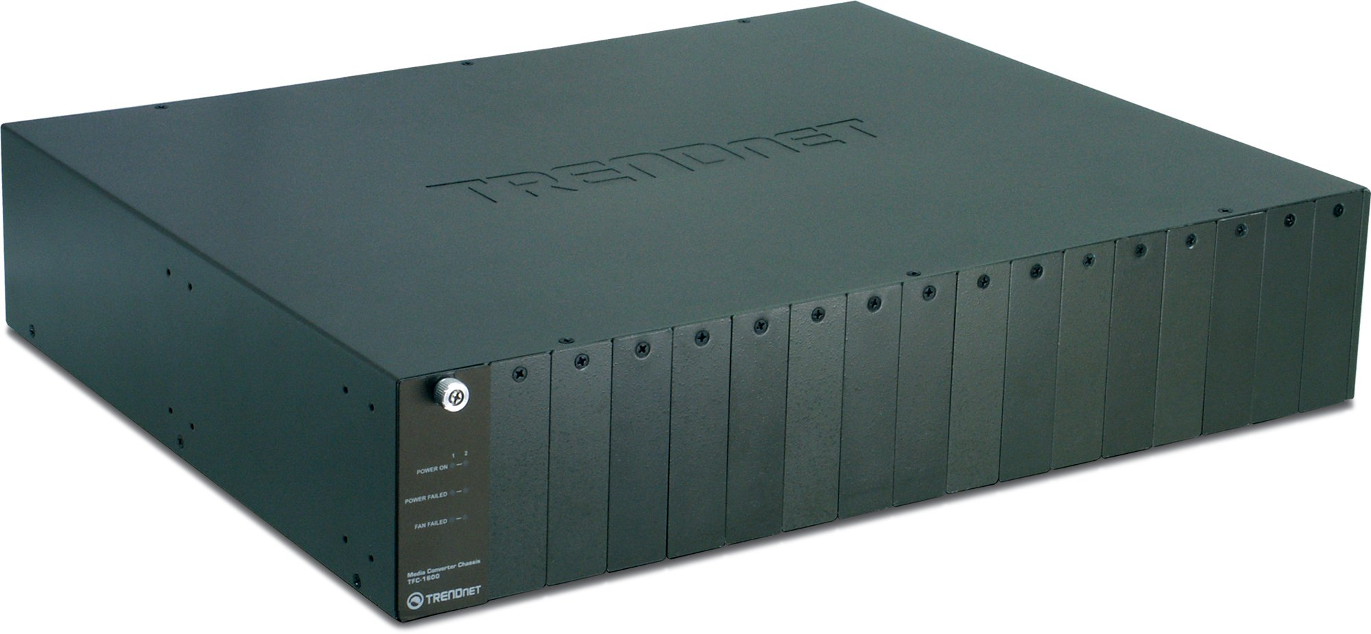 TRENDnet 16-Bay Fiber Converter Chassis System SNMP Management Module, TFC-1600 by TRENDnet
