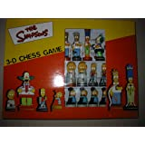 schach the simpsons 3-d chess game