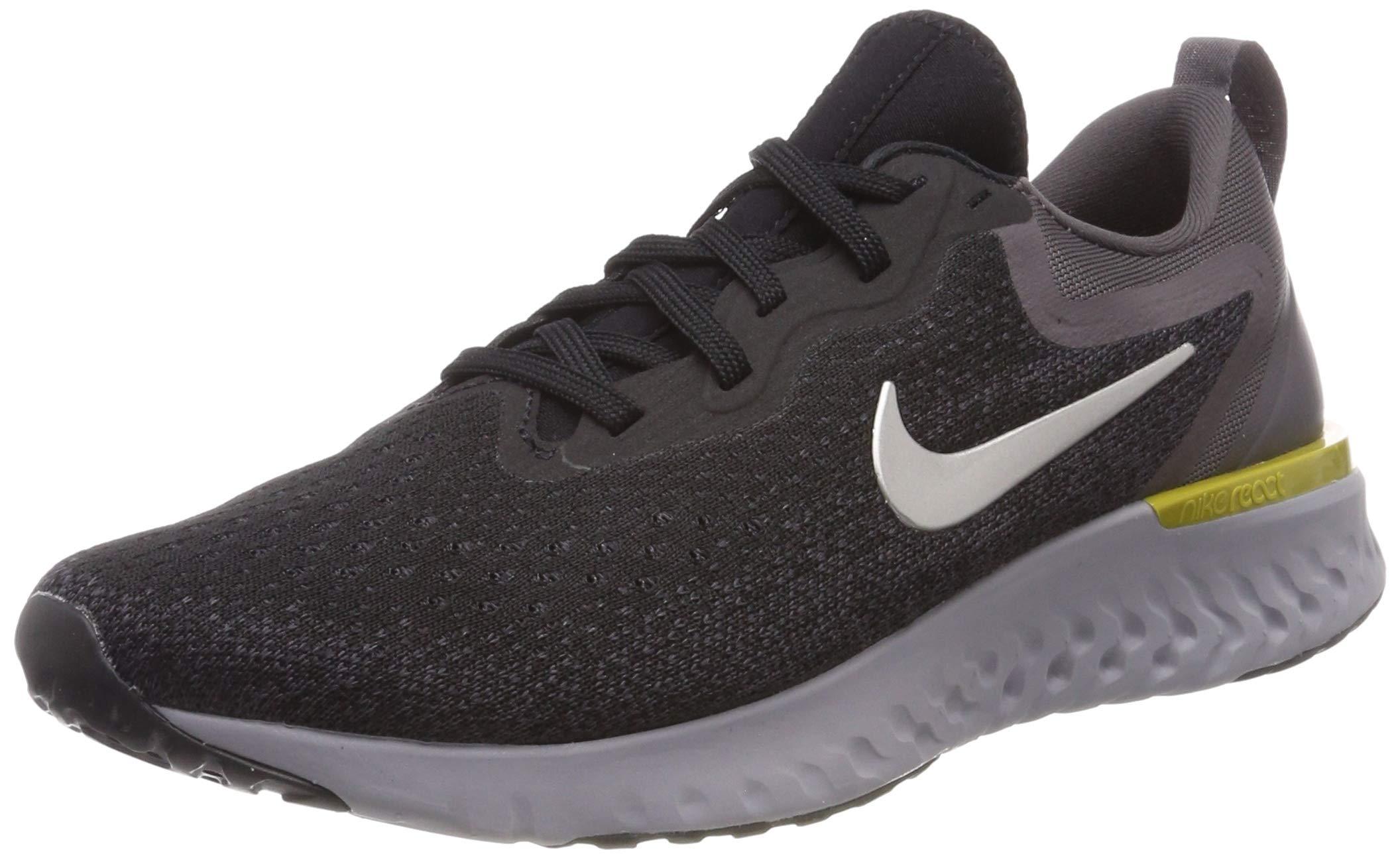 Nike Men's Odyssey React Running Shoe, Black/Metallic Pewter-Thunder Grey, 7.5 by Nike (Image #1)