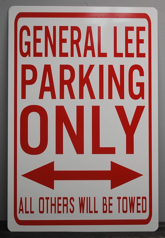 GENERAL LEE METAL STREET SIGN DUKES OF HAZZARD 69 DODGE CHARGER BO LUKE DUKE