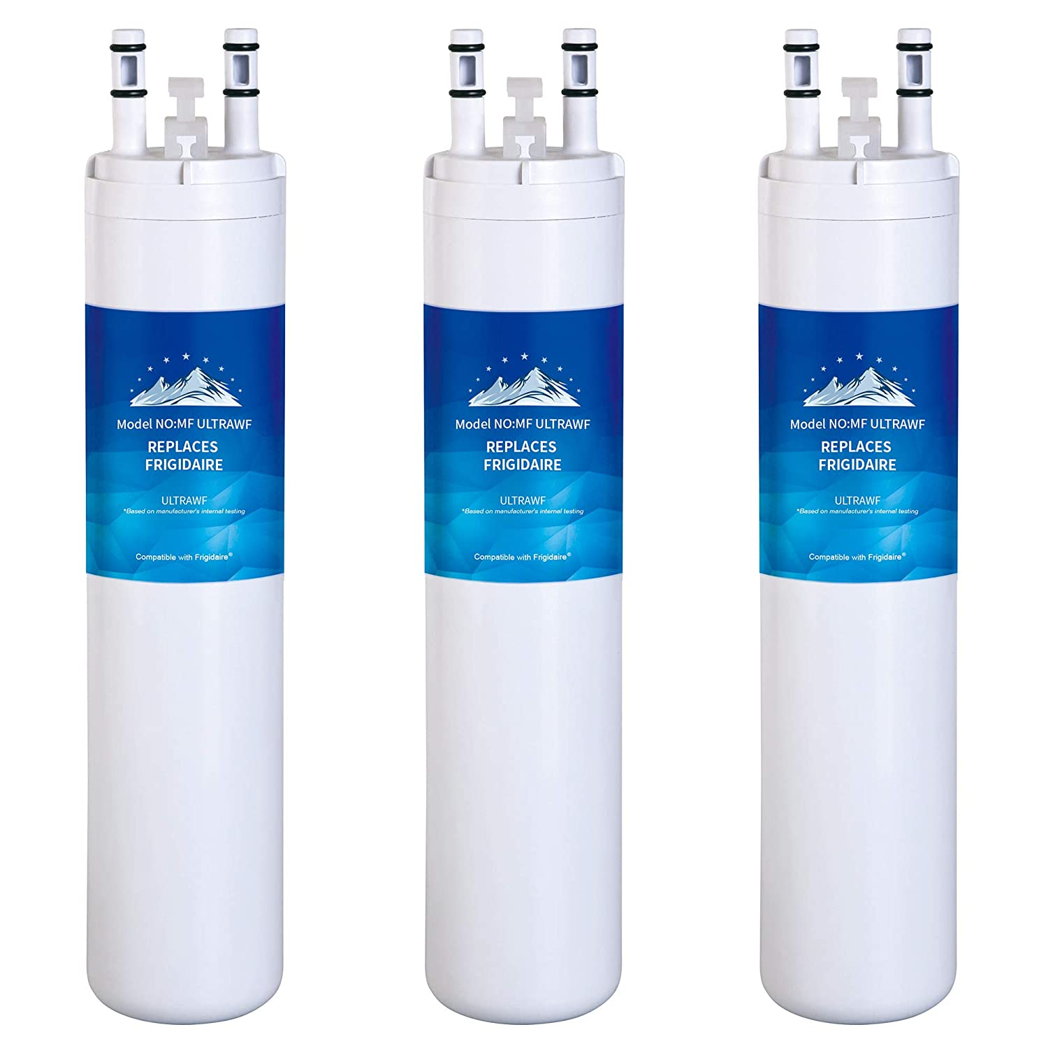 Mountain Flows U|LTRAWF Compatible Refrigerator Water Filter - 9999 water filter - 3 Pack