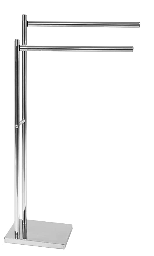 ARTEX - Toallero de pie de Acero Inoxidable, 40 x 18 x 83 cm