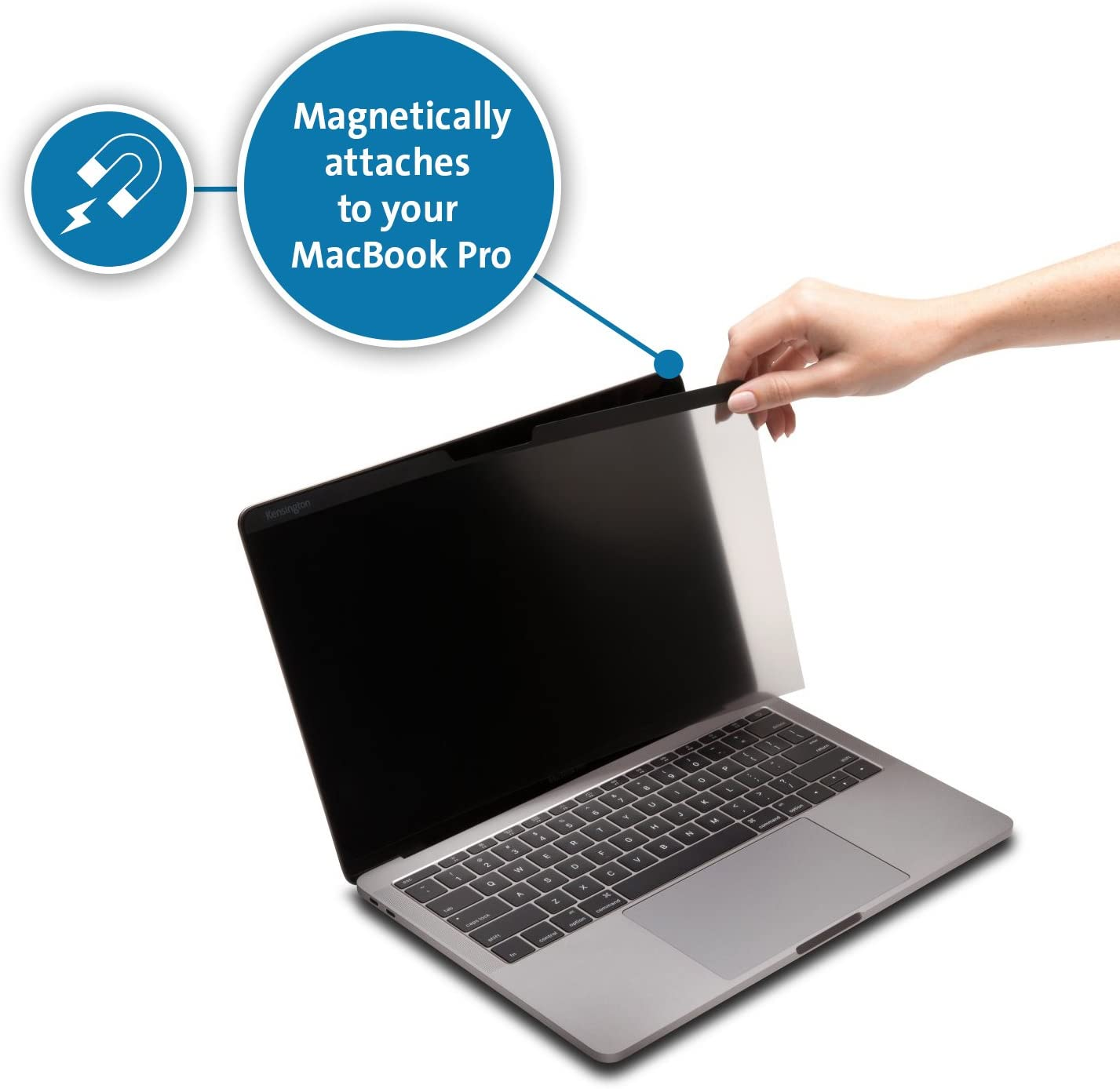 Kensington MP15 MacBook Pro Magnetic Privacy Screen for 15 2016//2017//2018 MacBook Pro K64491WW