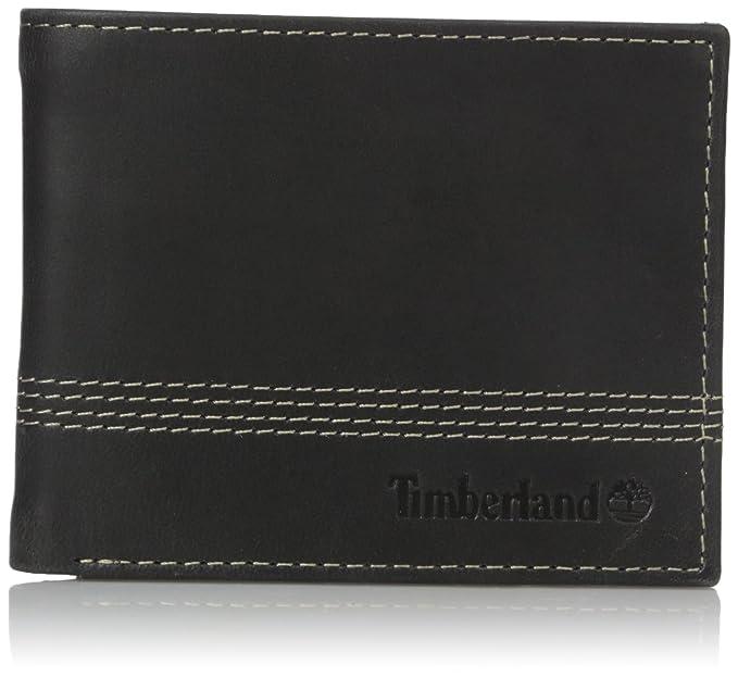 Amazon.com: Timberland - Cartera de piel para hombre con ...