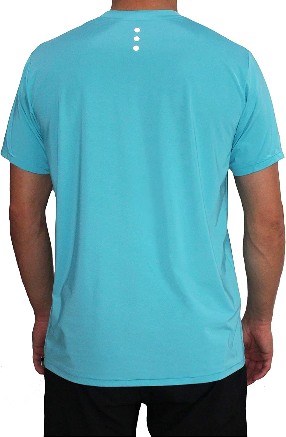 Fact/_ Activewear Mens Performance Tee w//Moisture Wicking Cool-tech Pocket for Running Crossfit