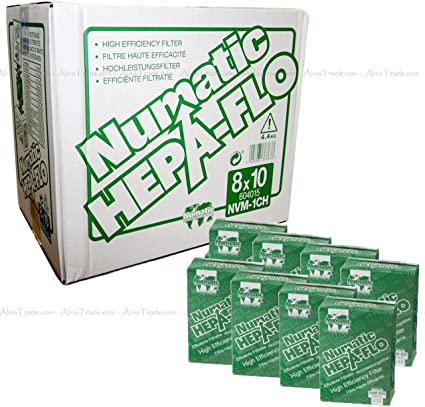 Original Numatic NVM-1CH Henry Hoover Cleaner Bags Hepa-Flo (8) by Numatic: Amazon.es: Hogar