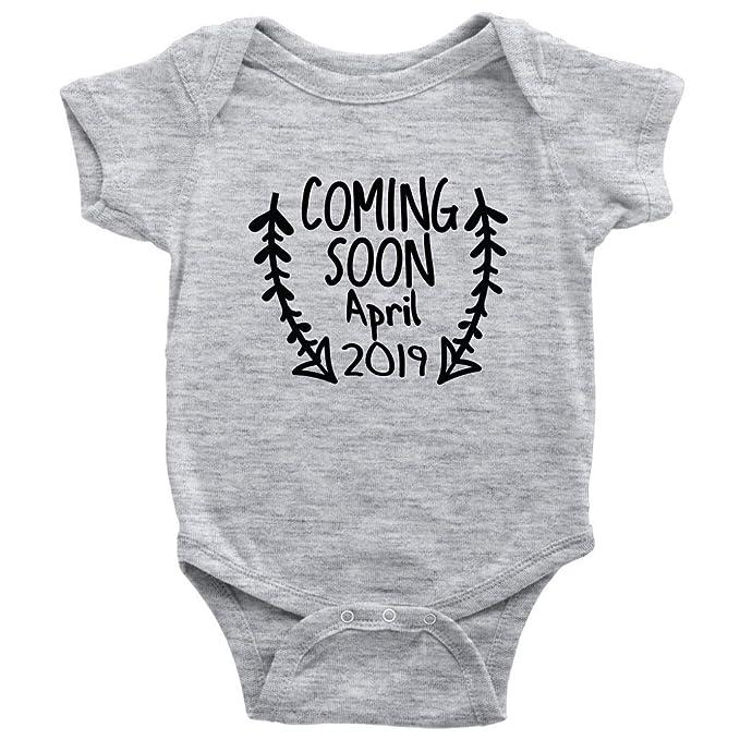 Amazon com: Coming Soon April 2019 One-Piece Baby Birth