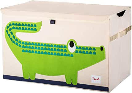 3 Sprouts Toy Chest - Crocodile