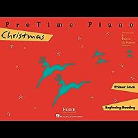 PreTime Piano Christmas Primer Level book cover