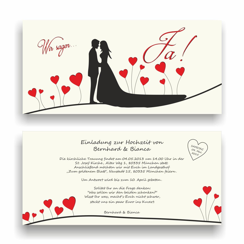 Einladung zur Hochzeit I Wir sagen Ja... mit Herzchen I HO-005 Hochzeitseinladung (50 Stück) B0771GLWV6 | Beliebte Empfehlung  | Online Shop Europe  | Outlet Store Online